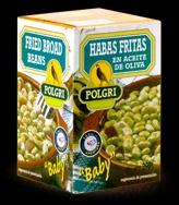 Foto de Habitas fritas en aceite de oliva