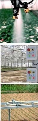 Foto de Carros de riego automático para invernaderos