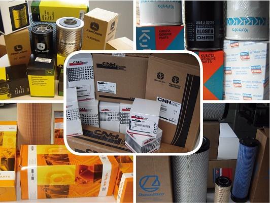 Foto de Filtros de aceite, filtros de aire, filtros del hidráulico, filtros de gas-oil y filtros de cabina