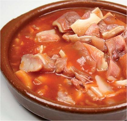 Foto de Orejas de cerdo en salsa