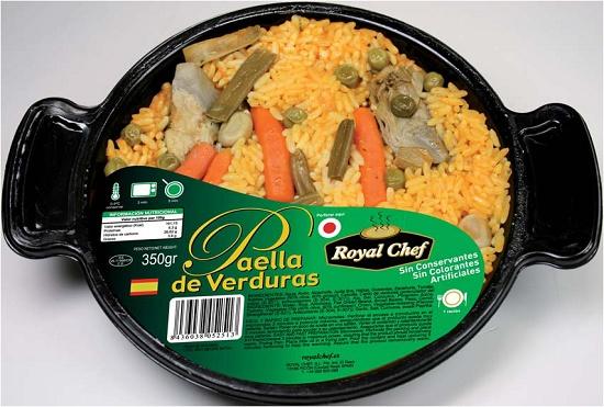 Foto de Paella de verduras