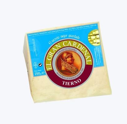 Foto de Cuña de mezcla de queso tierno