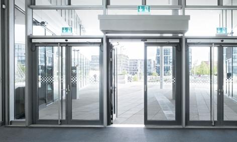 Foto de Sistema de puerta batiente