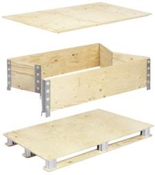 Foto de Embalajes modulares pleglabes y reutilizables
