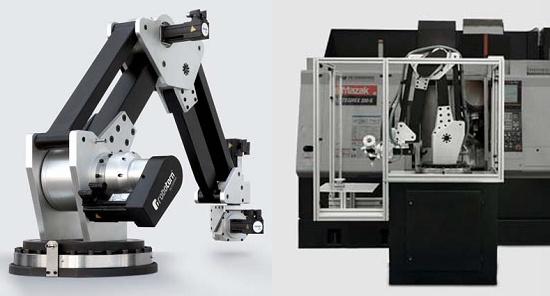 Foto de Robot para la alimentación de tornos