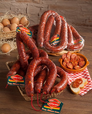 Foto de Chorizos aldeanos ibéricos