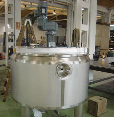 Foto de Tanque batidor de 700 litros