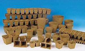 Foto de Macetas orgánicas biodegradables