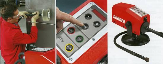 Foto de Rectificadoras electrónicas con eje flexible