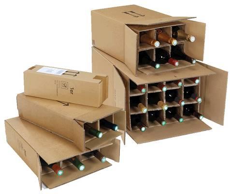 Foto de Cajas para botellas