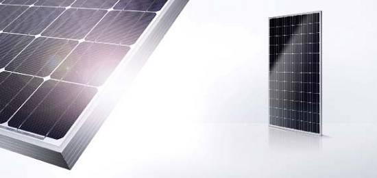 Foto de Módulos fotovoltaicos monocristalinos