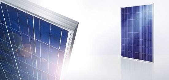 Foto de Módulos fotovoltaicos policristalinos
