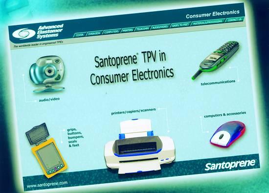 """Foto de """"Santoprene """"on line"""""""""""