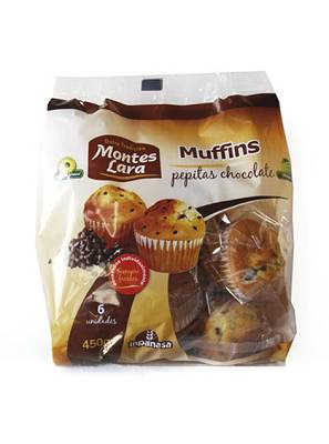 Foto de Muffins con pepitas de chocolate