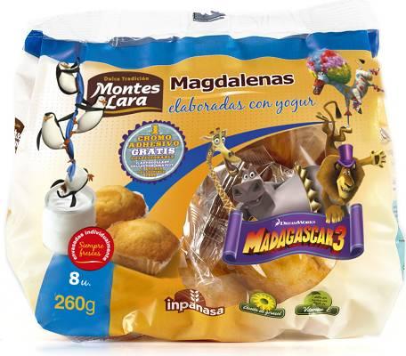 Foto de Magdalenas con yogur