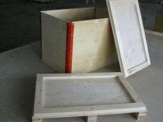 Foto de Cajas de madera contrachapada