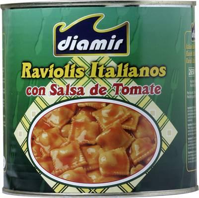 Foto de Raviolis con salsa de tomate