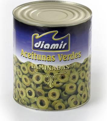 Foto de Aceitunas verdes laminadas