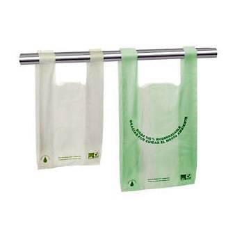 Foto de Bolsas biodegradables con asas camiseta
