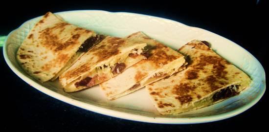 Foto de Tortilla de cecina y parmesano