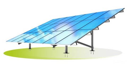 Foto de Estructuras para el montaje de módulos fotovoltáicos en huertos solares