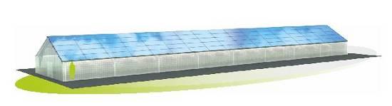 Foto de Estructuras a dos aguas para placas solares