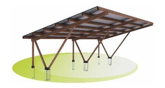 Foto de Estructuras para placas solares