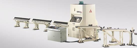 Foto de Sistemas automáticos para el punzonado, marcado y corte de angulares medios