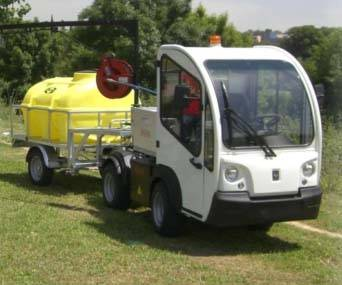 Foto de Vehículos eléctricos para servicios municipales