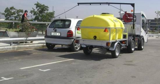 Foto de Remolques depósito para vehículos eléctricos