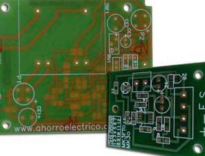 Foto de Diseños de circuitos en placa impresa