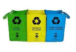 Foto de Bolsas de reciclado selectivo