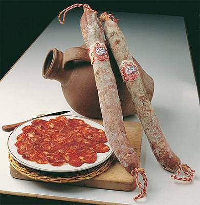 Foto de Chorizos ibéricos de bellota