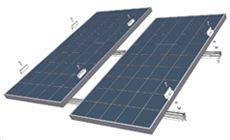 Foto de Sistemas de montaje en cubiertas a dos aguas en paralelo al tejado