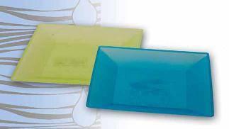 Foto de Vajillas de plástico ecológicas y reutilizables