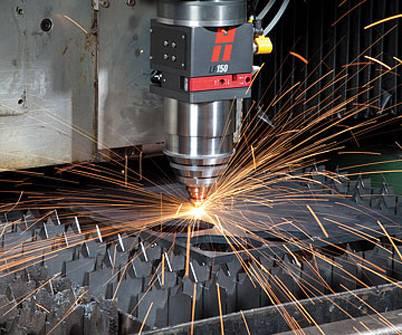 Foto de Sistema de corte de acero al carbono