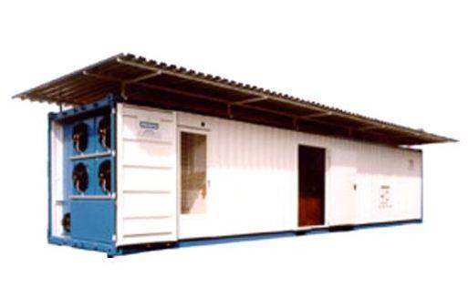 Foto de Fábricas de hielo troceado en contenedor de 40 pies