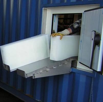 Foto de Plantas de hielo en barras en contenedor de 40 pies