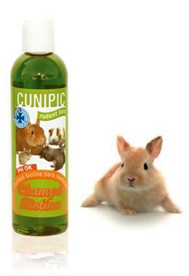 Foto de Champús para conejos y roedores