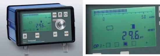 Foto de Visualizadores para control en proceso, post proceso o ajuste mediante rectificado