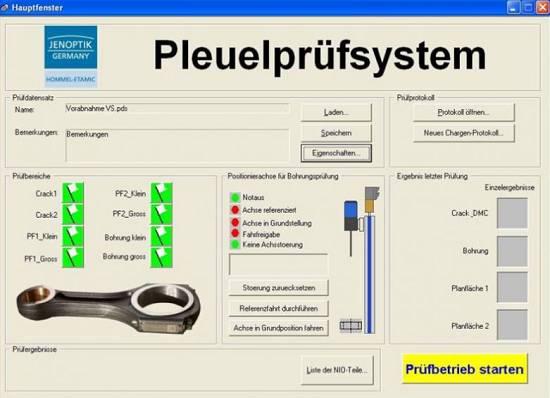 Foto de Software intuitivo para la inspección de defectos
