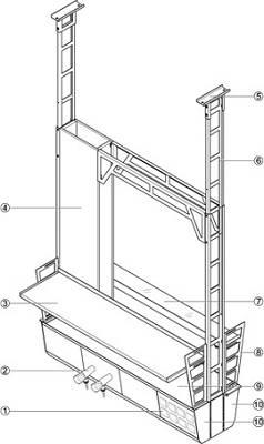 Foto de Estructuras técnicas de servicios colgadas