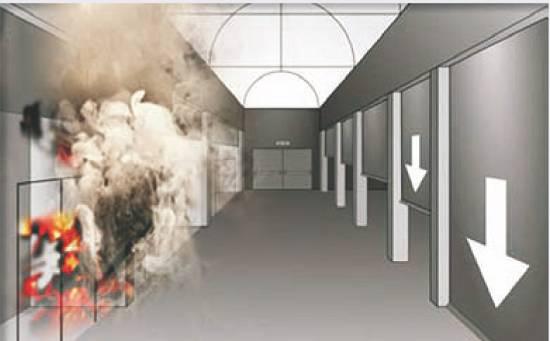 Foto de Barreras de control de humo y fuego