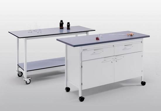 Foto de Mesas individuales para laboratorio