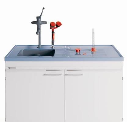 Piletas y fregaderos para laboratorio k ttermann qu mica for Fregadero gres