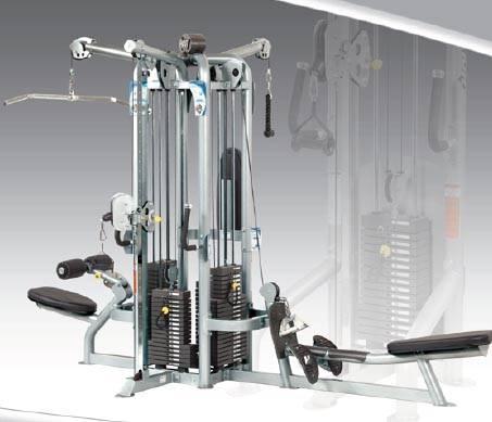 M quinas de musculaci n hoist cmj instalaciones y for Maquinas de musculacion