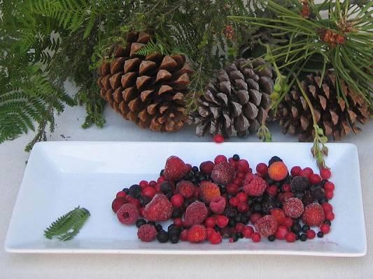Foto de Frutas del bosque congeladas