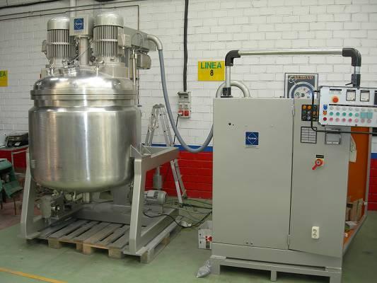 Foto de Reactores de 700 litros de capacidad