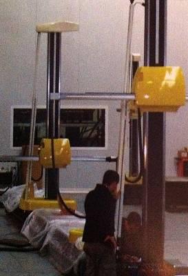 Foto de Máquinas de medición en proceso