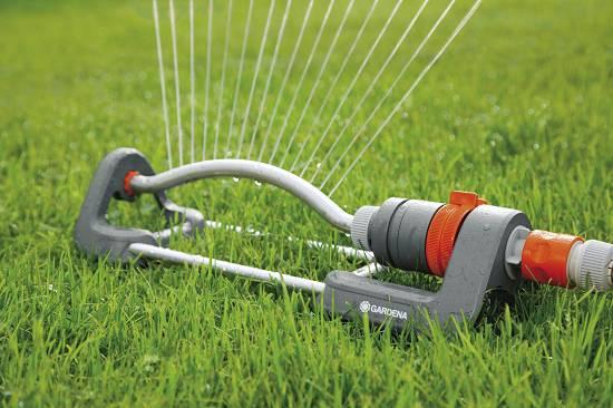 Aspersores oscilantes gardena polo 220 classic - Aspersores de riego ...